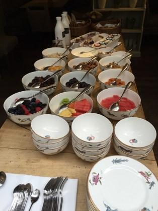 The Potting Shed breakfast Marylebone Dorset Square Hotel