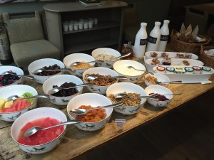 The Potting Shed Continental Breakfast Dorset Square Hotel
