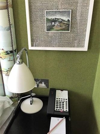 Bedside table Dorset Square Hotel