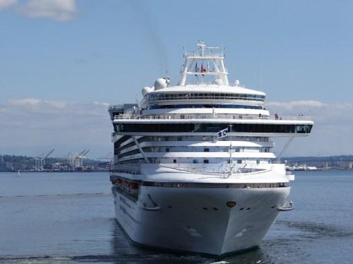 Seattle Cruise to Alaska Princess Cruise AA flight delays