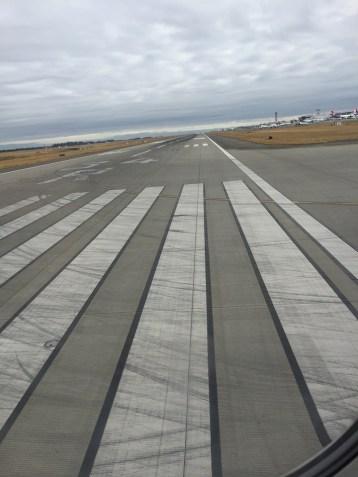 Seattle Sea Tac Runway view