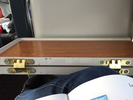 Virgin Trains leg room First Class train Edinburgh to London