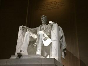 Lincoln Memorial Art Weekend in D.C.
