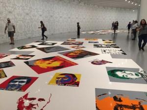 Art Weekend in D.C. Trace by Ai Wei Wei