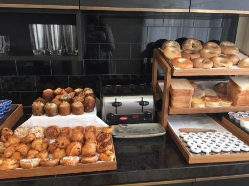 Fairmont D.C. Gold Level Lounge Review breakfast