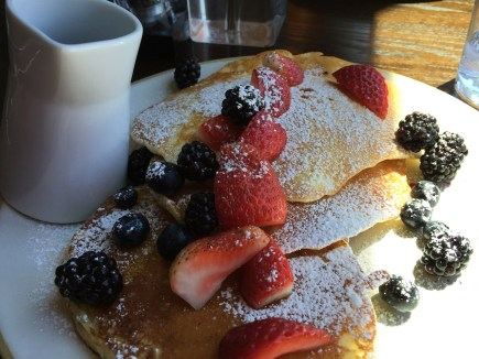 Pancakes Four Seasons Seattle Goldfinch Tavern