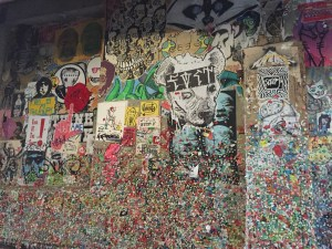 Seattle Gum Wall, one block from Four Seasons Seattle
