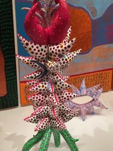 Kusama Infinity Mirrors art sculpture