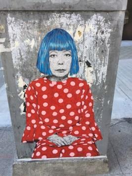 Seattle Street Art Kusama at SAM