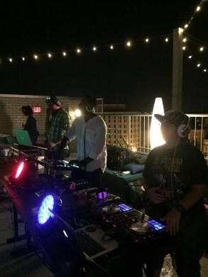 Silent Disco DJs at Embassy Row Hotel