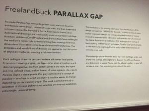 Parallax Gap at The Renwick Gallery