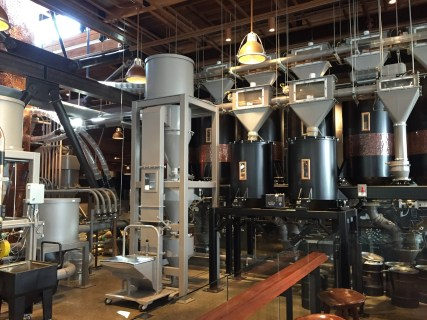 Starbucks Roastery Factory Seattle