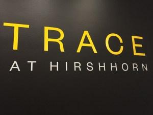 Trace at Hirshhorn art exhibit in D.C.