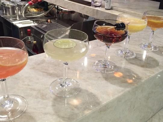 PHL Centurion Lounge bar cocktails