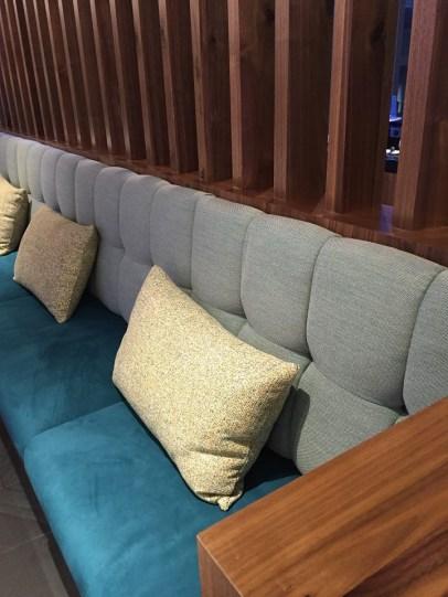 PHL Centurion Lounge seating