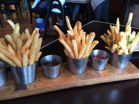 Trio of Duck Fat Fries D.C.