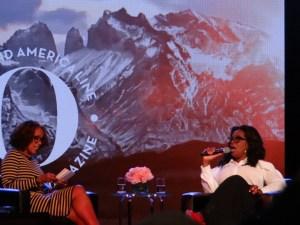 Conversation with Oprah and Gayle Alaska cruise