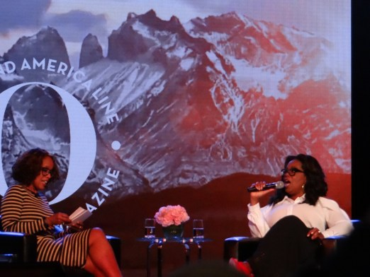 Conversation with Oprah and Gayle Alaska cruise