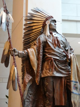 Statue of Chief Washakie US Capitol