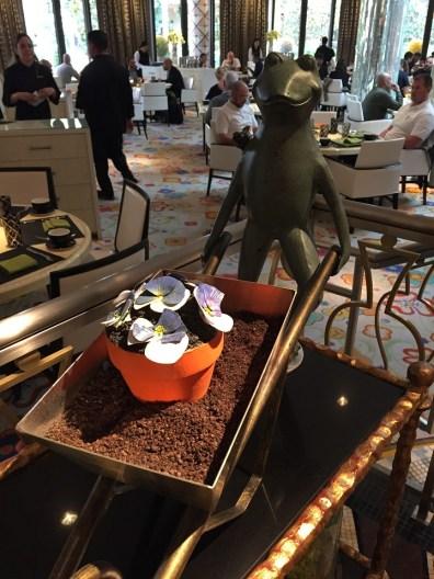 Edible Flower Pot Cake Wynn Las Vegas Desserts