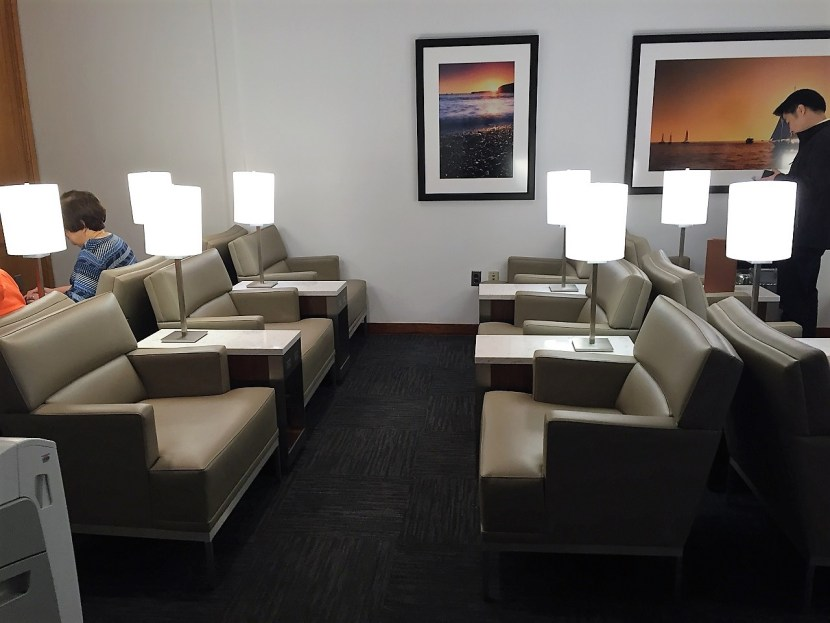 United Club PHL seating