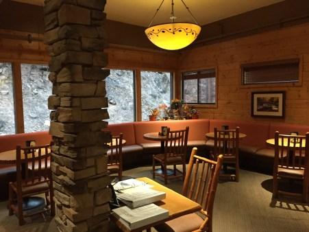 Zion Lodge Restaurant view