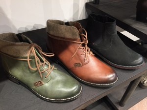 Benjamin Lovell Green Shoes in Philly