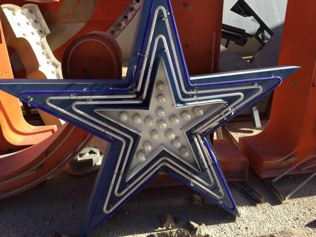 Neon Museum Star Sign