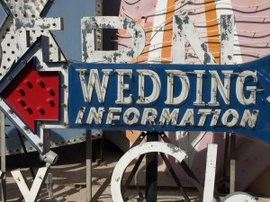 Las Vegas Wedding Information Neon Sign Neon Museum