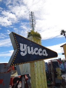 Neon Museum Yucca Motel Sign