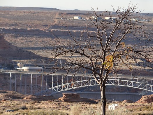 View of Glen Canyon Dam in Page Arizona Roadtrip St. George to Page
