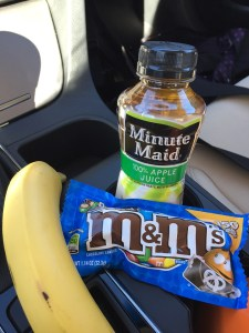 Roadtrip snacks driving St George to Page Arizona