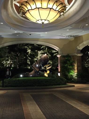 The Wynn Hotel Entrance