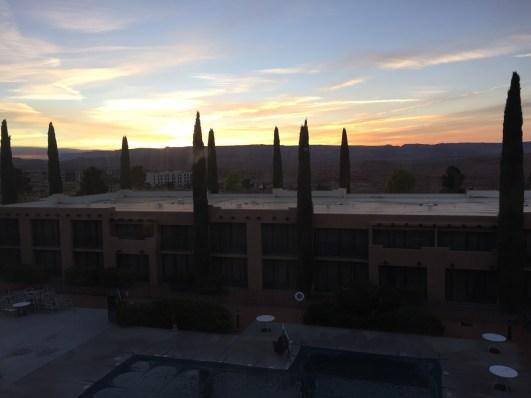 Sunset View Page Arizona Marriott Courtyard