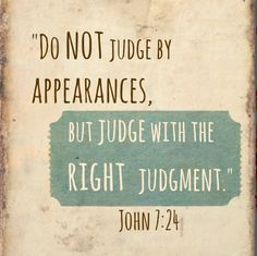 judgingrightly
