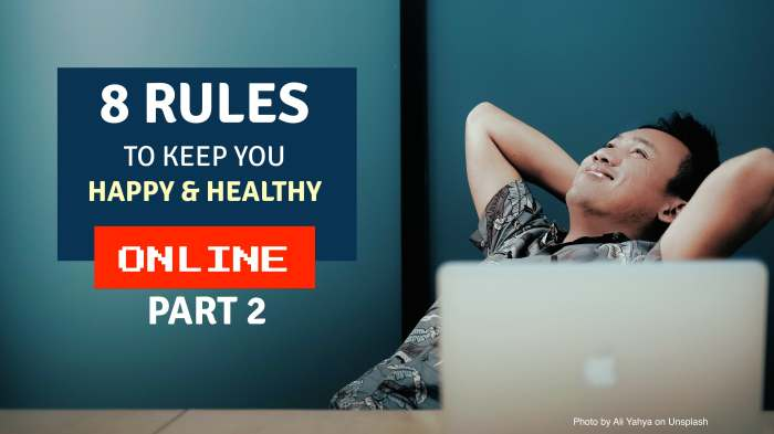 8 rules happy healthy graphic 2