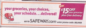 Safeway Delivery Ad