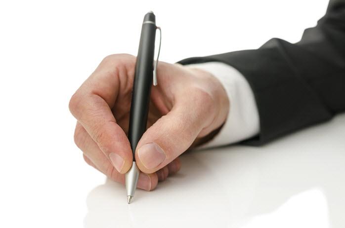 sales skills: handwritten notes make meetings happen
