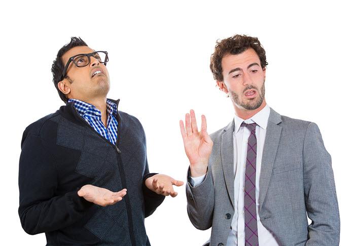 sales tip: sometimes the client won't listen