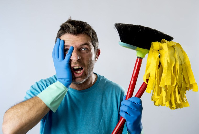 salespeople have to mop up the mess