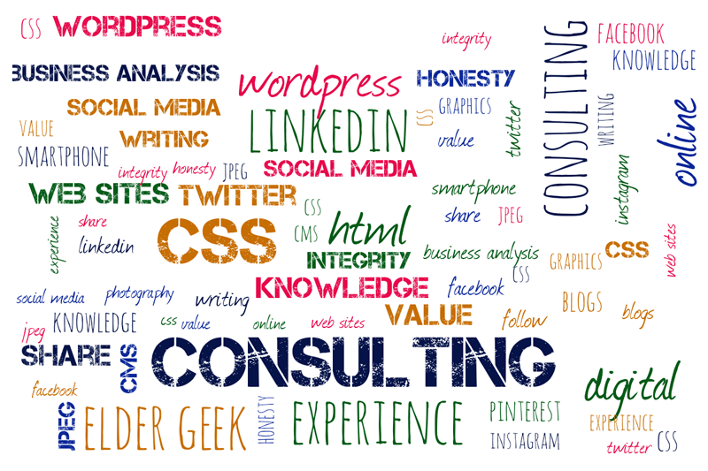 Consulting Wordcloud