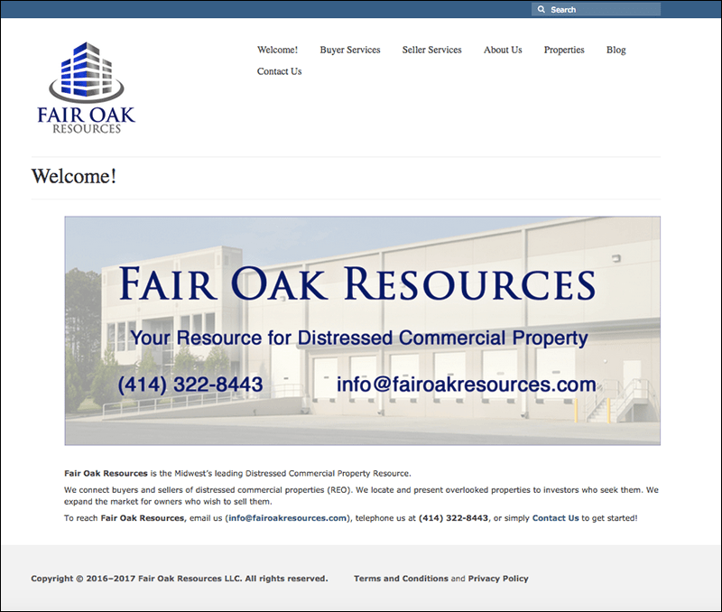 Fair Oak Resources Home Page