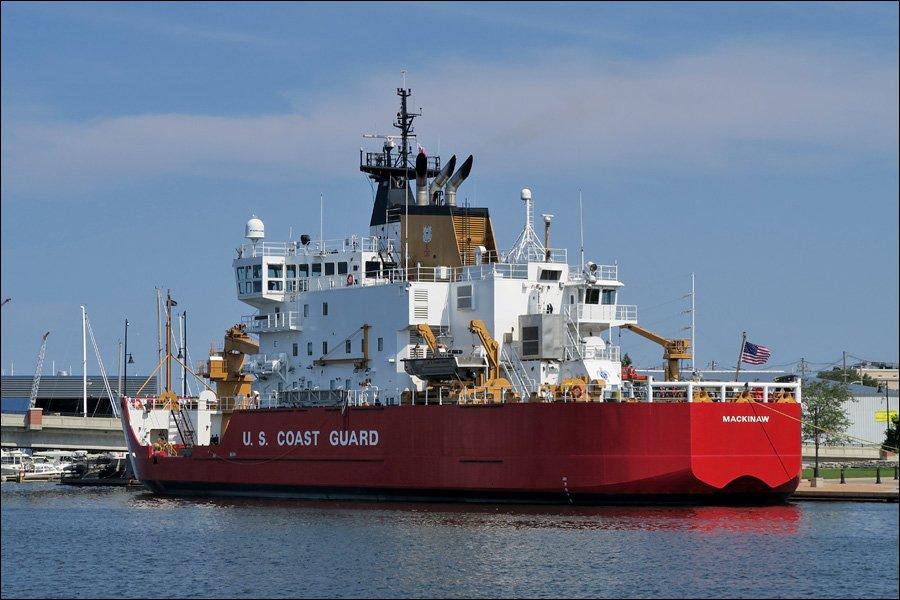USCGS Icebreaker Mackinaw