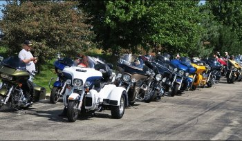 Lined Up and Ready to Hit the Road