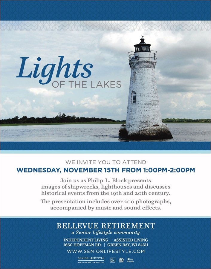 Bellevue Lights of the Lakes Promotional Flyer