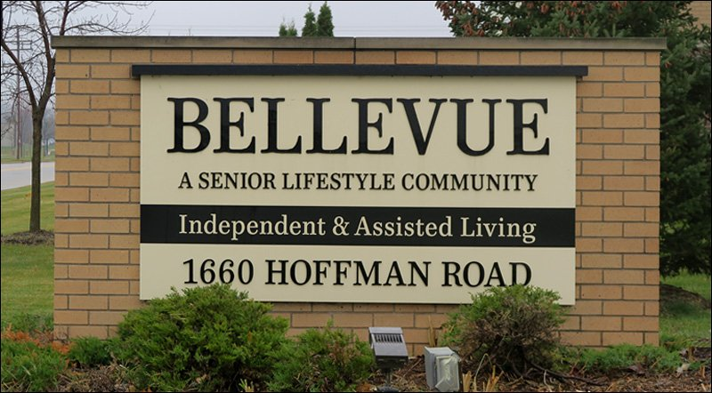 Bellevue Retirement Community Sign