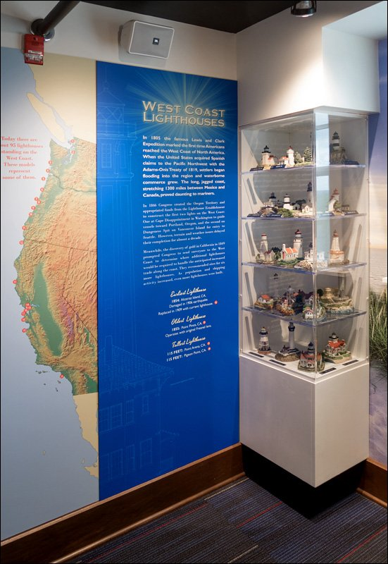 West Coast Lighthouse Exhibit