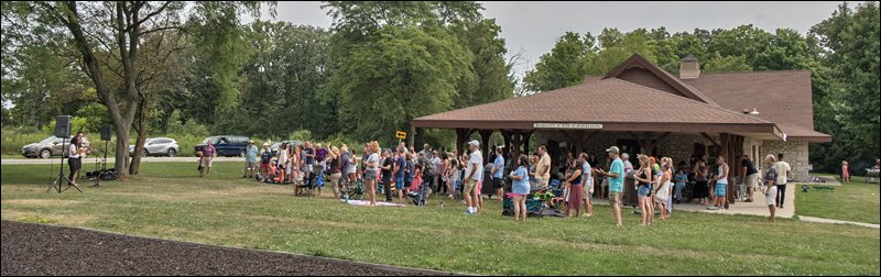Outdoor Worship Service at the Zaun Pavilion