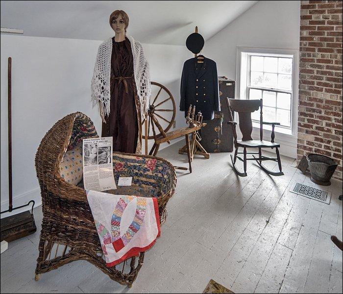Sand Point Lighthouse - Keeper's Bedroom