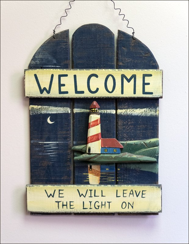 Welcome...We Will Leave the Light On